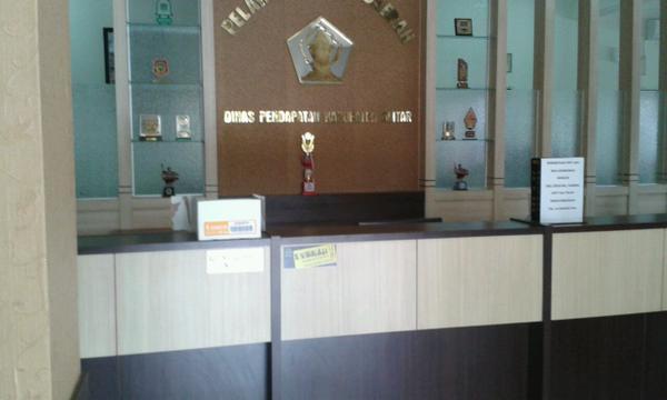 Ruang Pelayanan Dinas pendapatan Kabupaten Blitar